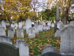 Bunhill Fields. Image copyright Nigel Cox via Geograph.org.uk creative commons 2.0 license.